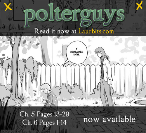 PM RT: WEEKEND WRAP-UP Polterguys Ch5 12-27, CH6 1-14 are up! Simon's past is revealed. You can read Polterguys from the beginning starting here.