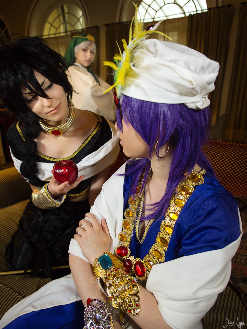 Magi Shoot with Tora-Rin See this and more at my facebook page: http://facebook.com/sntp.m43