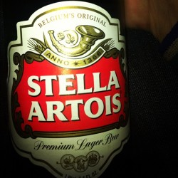 On a mission to LA! #stella #beercoma #LA #LateNightMission (Taken with Instagram)