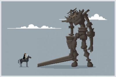 Pixel of the Colossus by Mike Myers