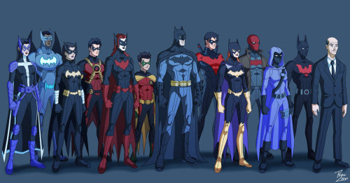 streetgo:  Bat Family: Gotham Crusaders by ~qBATMANp
