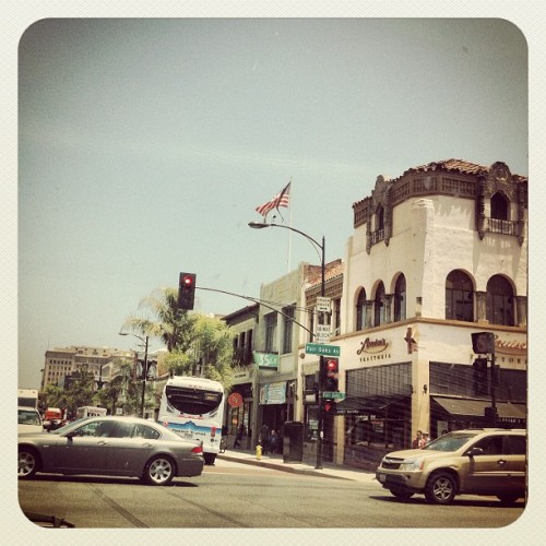 Old Town Pasadena (from our trip to SoCal last week) #jenvista #travel #architecture #igers #instacanvas #instagram (Taken with Instagram)