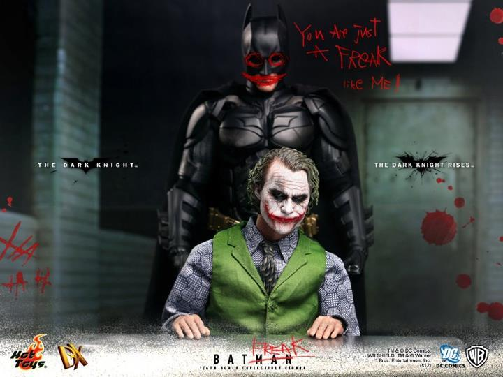 [TEASER] The Dark Knight Rises: Batman DX 2.0 - Hot Toys