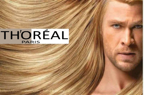 Found this on Facebook and had to change the Loreal to Thoreal. It was the appropriate thing to do and I regret nothing.