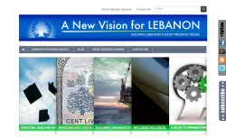 GEORGES SASSINE - A NEW VISION FOR LEBANON  This is my brother Georges Sassine's website where he develops strategies to solve essential issues we face everyday in Lebanon.