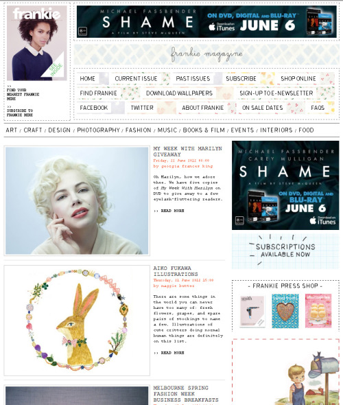 wow! frankie website introduce me! http://www.frankie.com.au/blogs/art/aiko-fukawa-illustrations