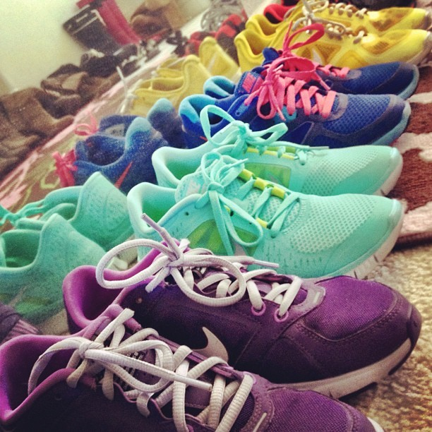 blogilates:  Just some of my babies. #fitnessfashion  (Taken with Instagram)