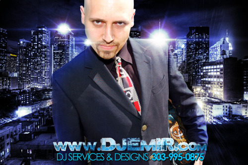 DJ Emir is a world famous nightclub and mixtape DJ that regularly rocks parties for crowds of 300-60,000. With a versatile library of great music and personal remixes coupled with his talent on the turntables Emir makes sure every party is an amazing party. Whether you need a DJ In Denver or around the world DJ Emir is the man to bring your party to life. Check out some of DJ Emir's amazing mixtapes at www.djemir.com Give us a call to get your party going 303-995-0875 or visit www.djemir.com for more details.