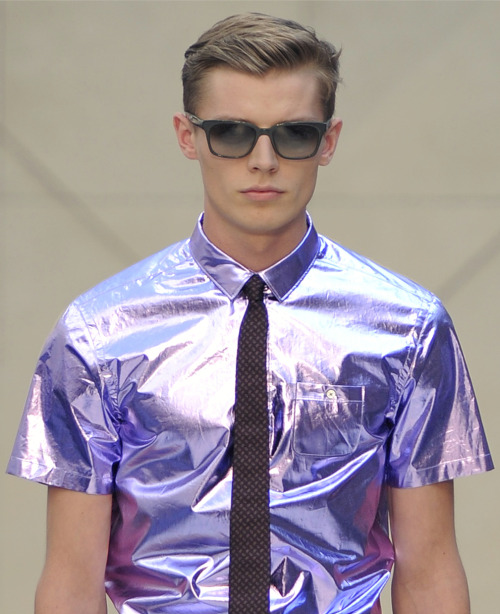 Burberry menswear s/s 2013
