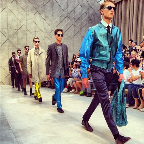 that jacket. Burberry Prorsum S/S 2013, photo by Mr. Porter