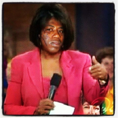 "Oprah Mane… ""Burr"" #straightfromthea  (Taken with Instagram)"