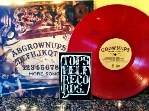 recordsandsuch:  Grown Ups - More Songs via Topshelf Records Final Pressing /300 Burnt Sienna  There is still time.
