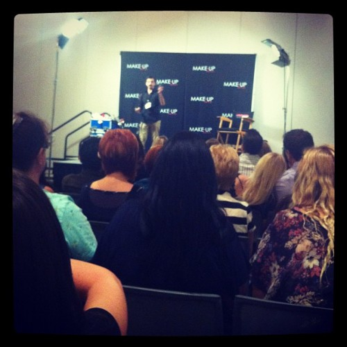 Taking classes! #imats  (Taken with Instagram)
