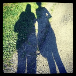 staycold:  Me and my love Marilyn! #shadows #summer #friends #girlswithtattoos #buffalo #DelawarePark (Taken with Instagram)