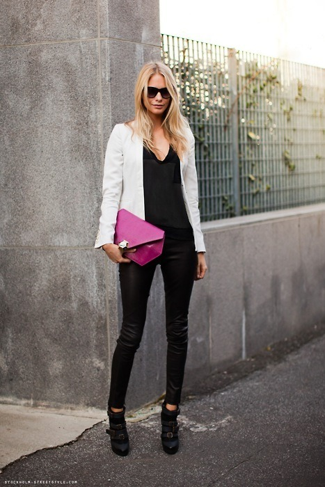 afinefashionfrenzy:  Touch of Pink
