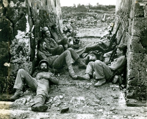 1945 US Marines, Okinawa, Japan