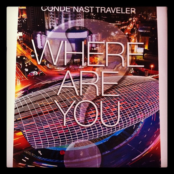 Where are you today? (Taken with Instagram)