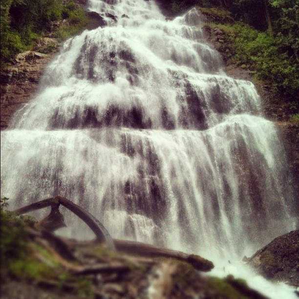 Taken with Instagram at Bridal Falls