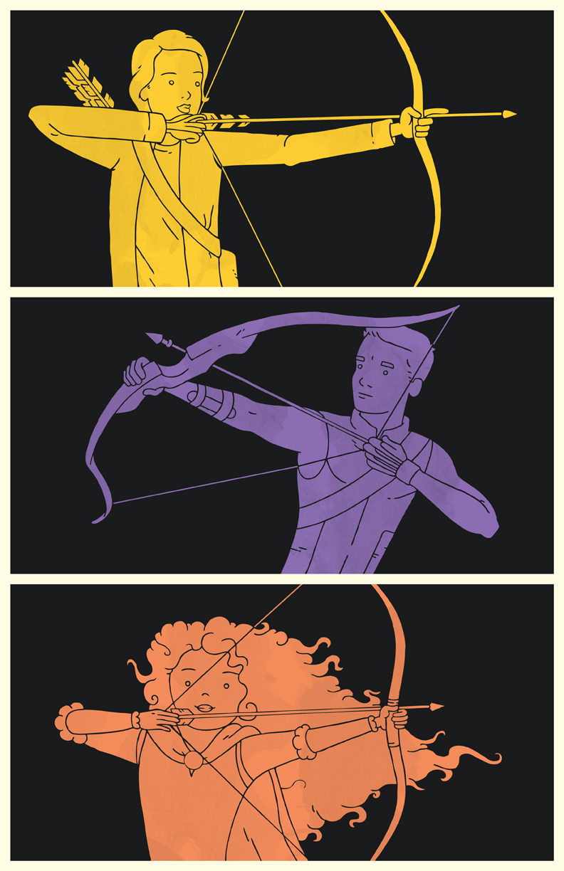 """Archers"" by Derek Eads"