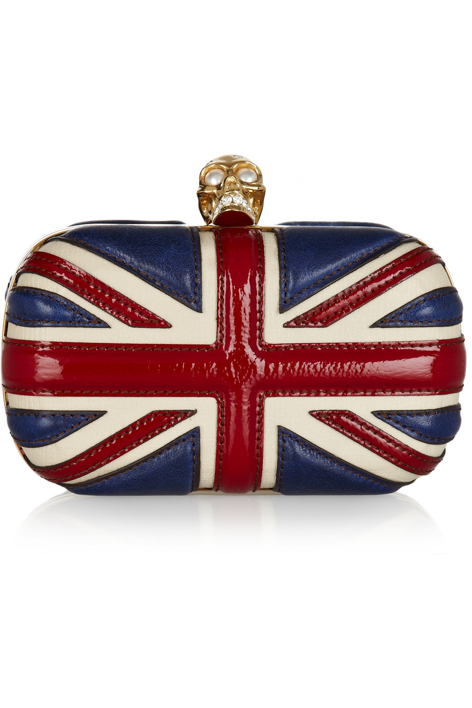 Still have my Jubilee pride as this Alexander McQueen clutch has given me some serious bag envy! Photo Credit:Net A Porter