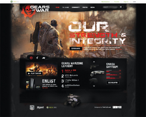Gears of War Site