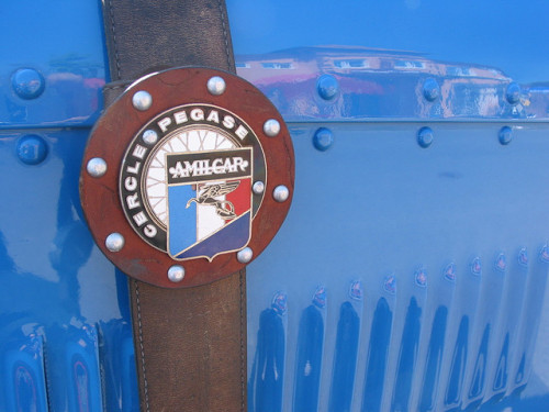 Amilcar badge Plakette by prototyp1 on Flickr.