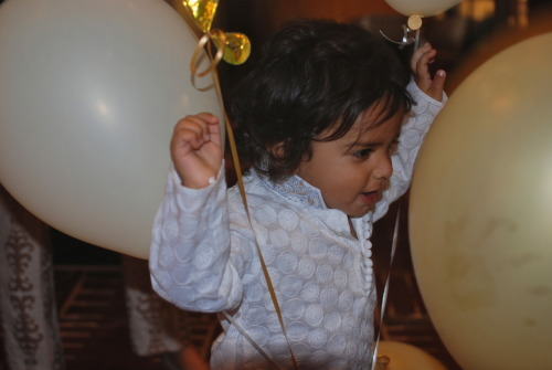 Baby's the life of the party. ~Sithara Reddy~