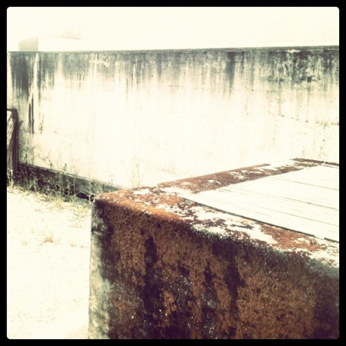 Sun wall #moa #vancouver #texture (Taken with Instagram)