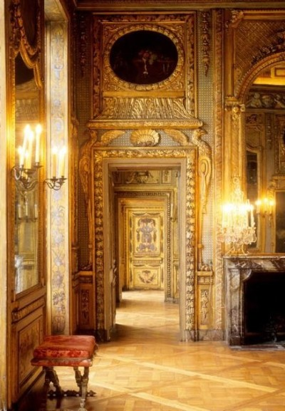 a-l-ancien-regime:  Interior, Hotel de Lauzun, Paris, France