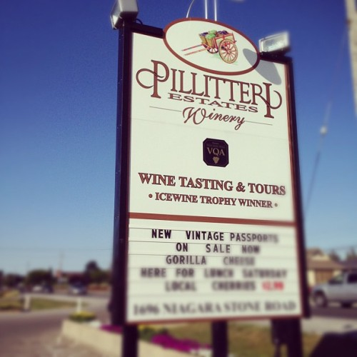 Last stop. Perhaps? W/ @starlexis, @r2dent & @niveen84 #wine #festival #vintage #new #niagara #winery  (Taken with Instagram at Pillitteri Estates Winery)