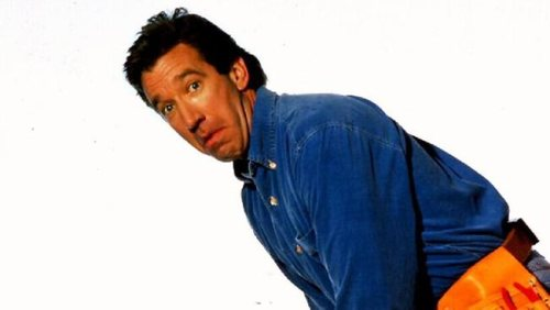Today is National Tim Allen day. If I were a girl i'd kiss Tim Allen on the lips.. TWICE.