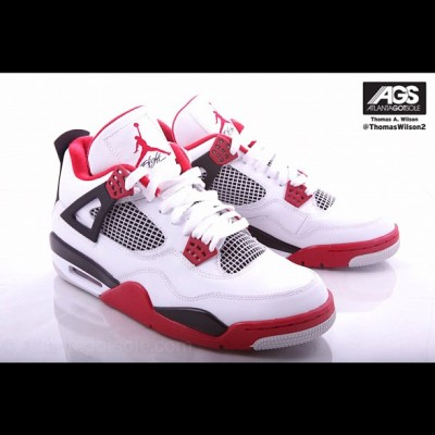 08/04/12 ~ Air Jordan Retro 4 ~ White/Varsity Red-Black ~ $160.00 #nike #air #jordan #retro #4 #4s #white #red #black #shoes #footwear #kicks #kickz #swag #fashion #cool #fresh #fly #photography #illustration #graphic #picture #drawing  (Taken with Instagram)