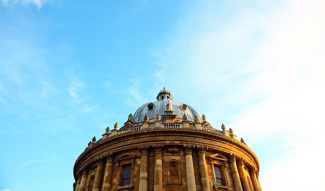 | ♕ |  Oxford sky - Radcliffe Camera  | by © vic xia
