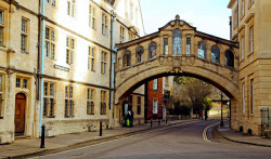 | ♕ |  Bridge of Sigh - Oxford  | by © vic xia | via ysvoice