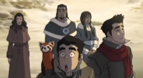 I just noticed this. LOOK HOW HAPPY KORRA'S PARENTS LOOK. They look so delighted and proud of their daughter. Fic definitely coming up. Oh, lord. They are both hot and they seem so sweet and down to earth from the few lines/sightings we've had (trolllololol), but I'm so glad they're showing up again.