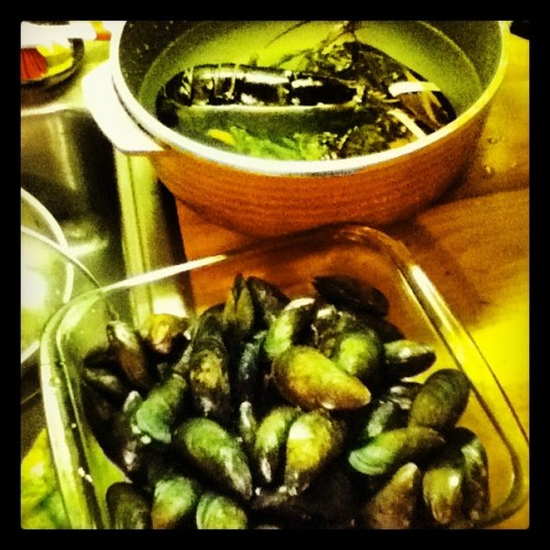 What's for dinner. (Taken with Instagram at Birthwise Midwifery School)