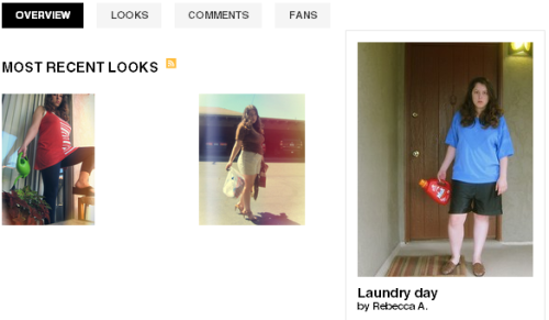 my latest project - running errands on lookbook.nu