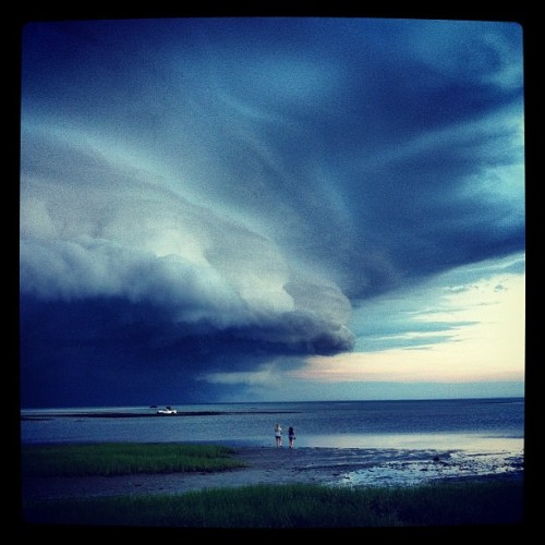Annnnnd here comes the #storm (Taken with Instagram)