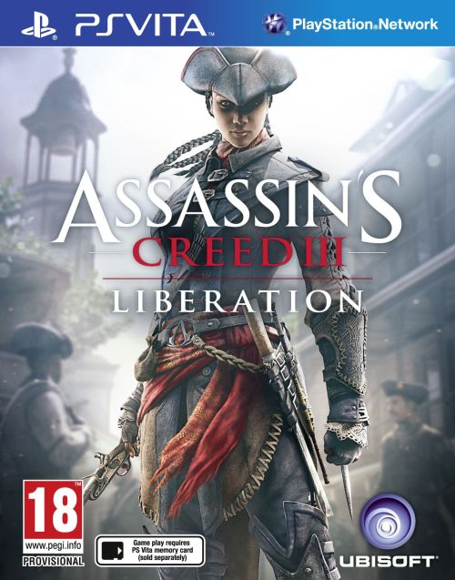 E3 2012 COVERAGE: ASSASSINS CREED 3: LIBERATION (PS VITA) Earlier this year Assassins Creed 3 was announced and has been one of the most anticipated games of the year alongside with Halo 4 and Resident Evil 6 but PlayStation hit us with some big news at their conference when they announced that Assassins Creed 3 would be heading to the PS VITA the same day as its system release in Assassins Creed 3 : Liberation. We had heard months before that the PS VITA would be getting a Assassins Creed title but nothing was confirmed till the announcement at E3 where we learned that we would be playing as the first female assassin Aveline.  In AC3: Liberation you play as Aveline a french female assassin of African decent in New Orleans, her story takes place at the same time as the system version of AC3 as they are both staged after the French and Indian War. Aveline is in no way connected to Desmond Miles the previous user of the animus so we are guessing there will be a new character accessing Aveline's memories. The game will still feel and handle like any other Assassins Creed but will utilize the PS VITA's front and back touch sensor's for tasks like pickpocketing and killing your enemies in a flashy finishing move. Assassins Creed 3 and liberation will both drop on October 30 but Im sure we'll learn more about this title before its release.  In addition to the announcement of this hand held title PlayStation also announced that in honor of Assassins Creed making its way to the PS VITA they would be releasing a special limited edition PS VITA Assassins Creed bundle which would come with a crystal white PS VITA and the game AC3: Liberation for the small price of $299.99! Ill be grabbing both titles upon release so expect major reviews for now let us know what you think about this game: Should Assassins Creed venture onto handhelds once again or should it just stick to system releases? -8BITKIDD