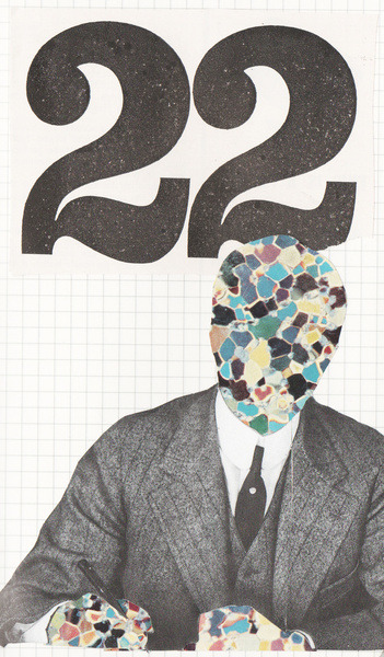 "thecollectivecollage:  ""22"" by The New Gravy Cake"
