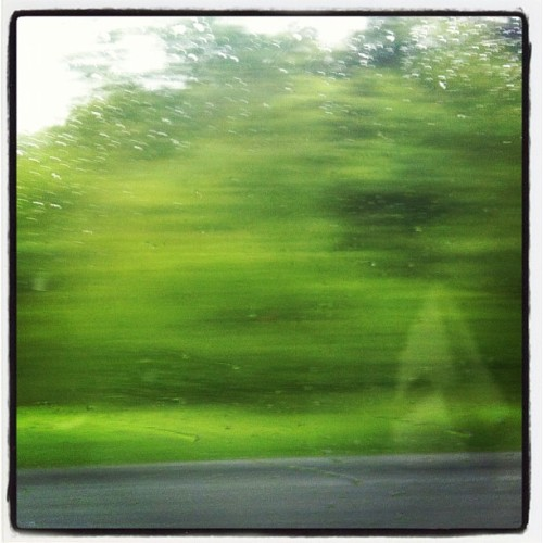 #photoadayjune Day 22 - movement … Driving home from work  (Taken with Instagram)