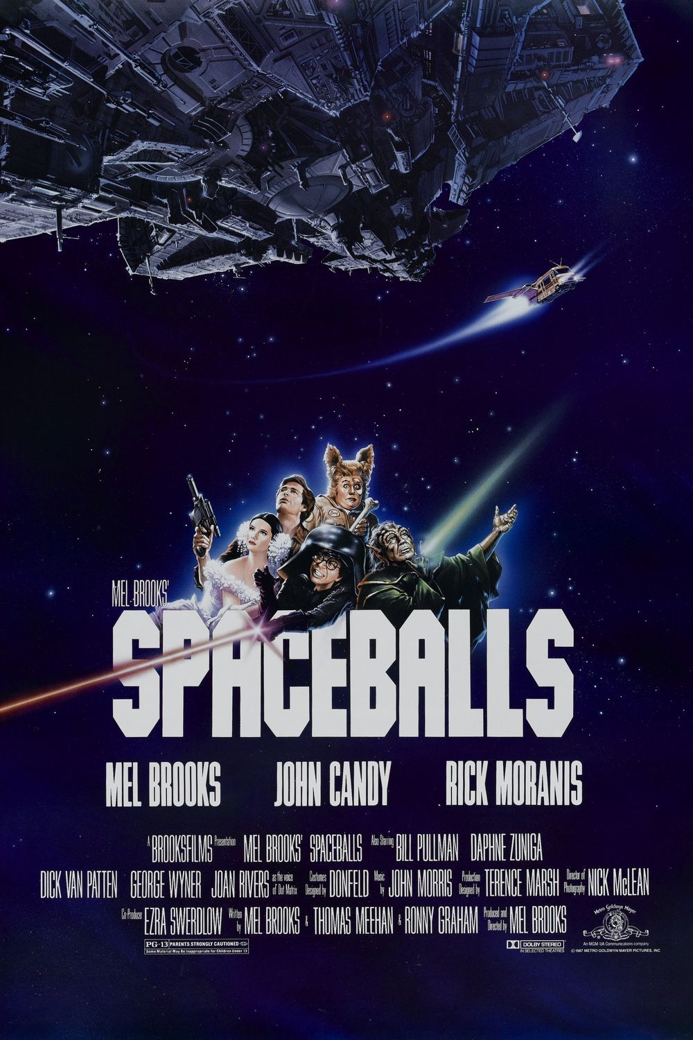 upnorthtrips:  25 YEARS AGO TODAY |6/24/87| The movie, Spaceballs, is released in theaters.