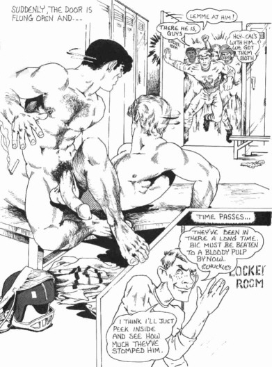 asucker4ahotman:  Sunday Comics…The Locker Room! (9 of 15)