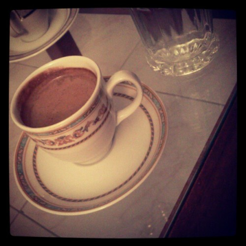 Turkish coffee. #randomshot  (Taken with Instagram)