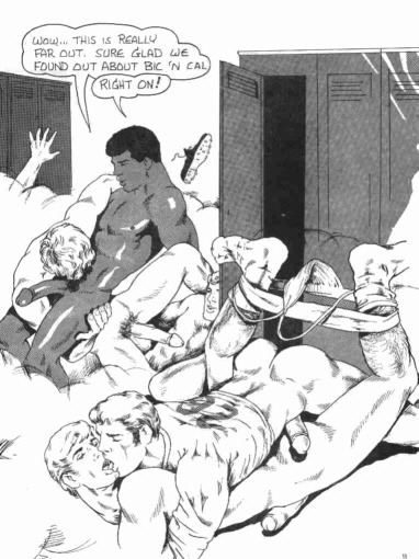 asucker4ahotman:  Sunday Comics…The Locker Room! (11 of 15)
