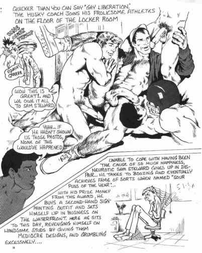 asucker4ahotman:  Sunday Comics…The Locker Room! (14 of 15)