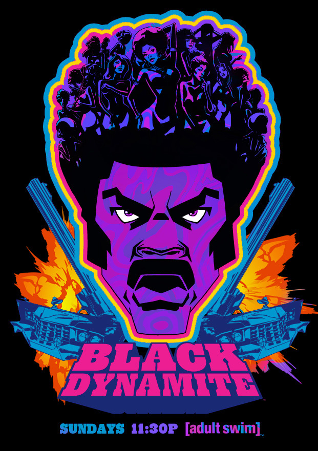 blackdynamitetv:  Black Light Poster Design