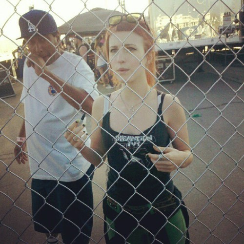Hayley Williams | Warped Tour 2012