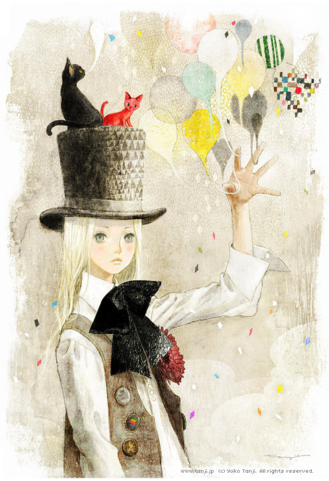 lohrien:  Illustrations by  Yoko Tanji  so pretty..