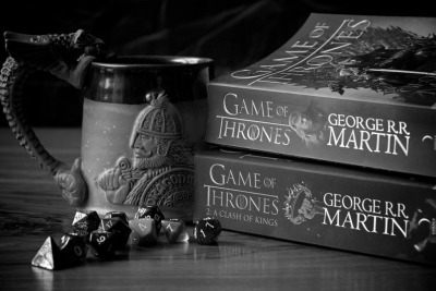 teachingliteracy:  Read - Game of Thrones (by dradd)     Still need to finish these..